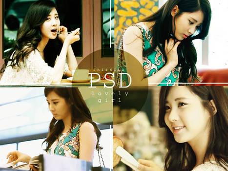 PSD - Lovely Girl