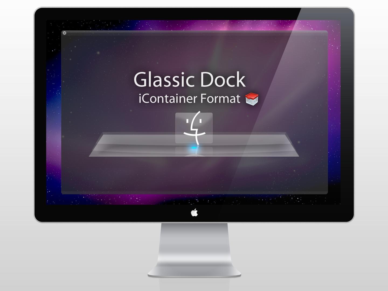 Glassic Dock by htmlcheeta
