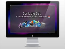 Scribble Set by htmlcheeta