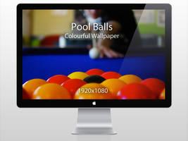 Pool Balls Wallpaper by htmlcheeta