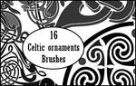 celtic ornaments brushes