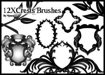 crests brushes by visualjenna