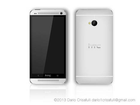 Htc one vector (silver)
