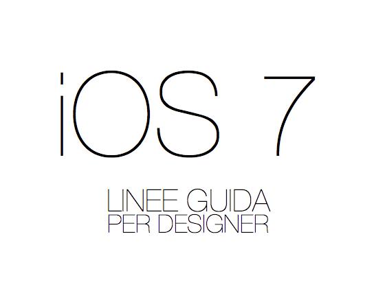 Ios 7 linee guida per designer by dario1crisafulli on for Programmi per designer