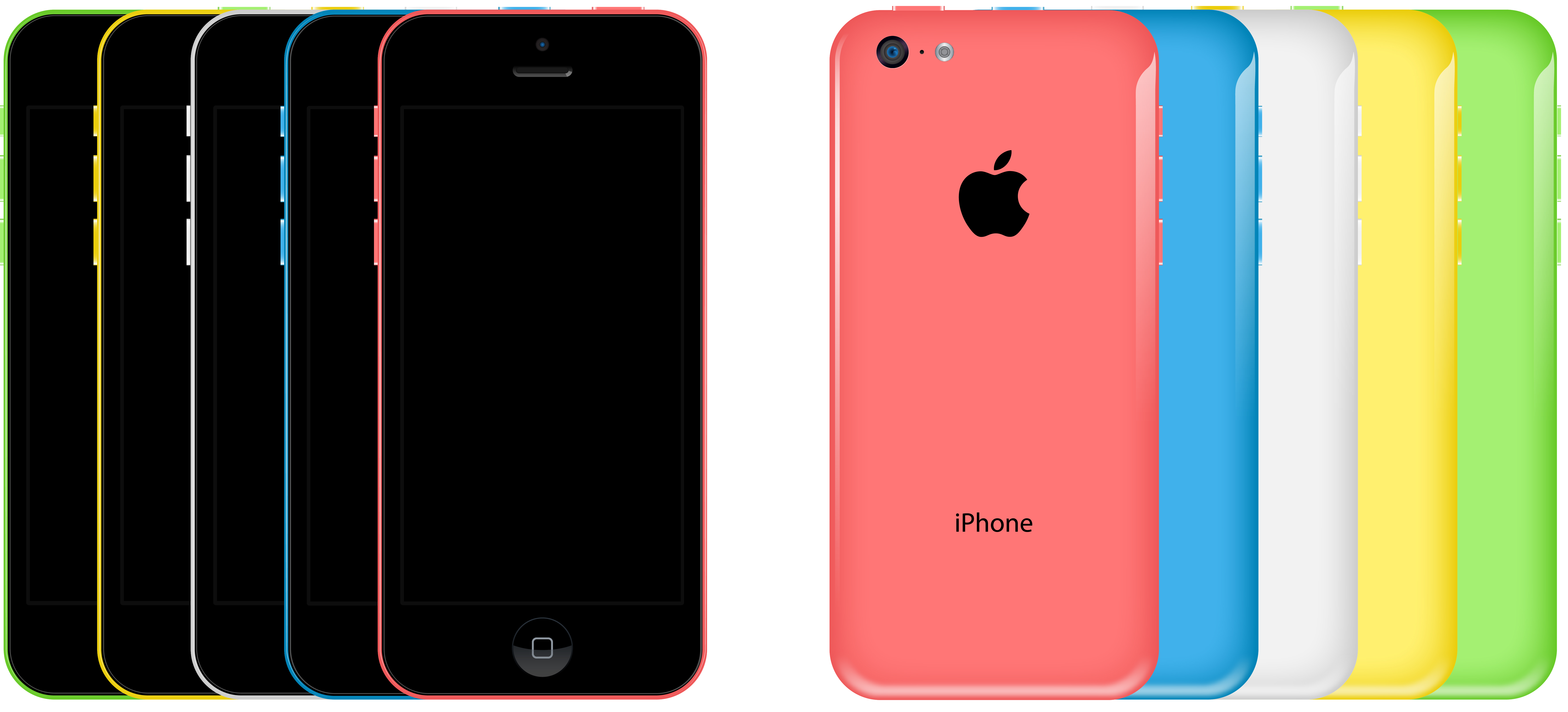 iphone 5c free iphone 5c free vector by dario1crisafulli on deviantart 4991