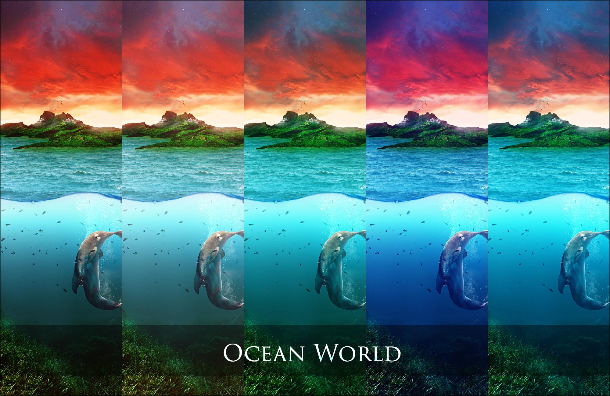 Ocean World Pack by aeli9