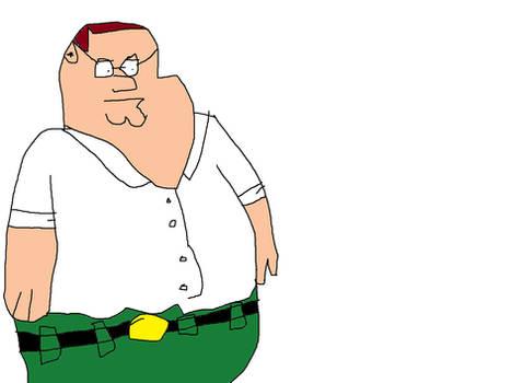 Sad Peter Griffin