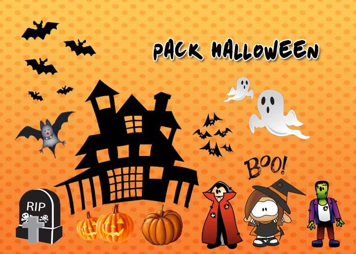 Pack Halloween by mingaamorir