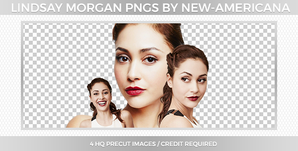 Lindsay Morgan PNGs by new-americana