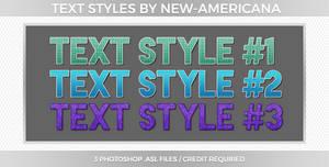 Text Styles #1