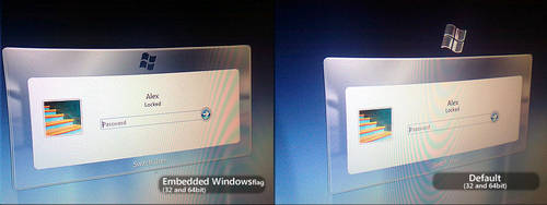 Windows 7   Login Screen Reworked by alexandru-r-ghinea
