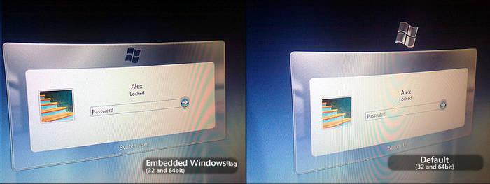 Windows 7 | Login Screen Reworked by alexandru-r-ghinea