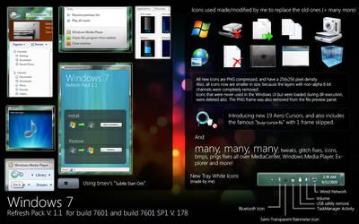 Windows 7 Refresh Pack 1.1 by alexandru-r-ghinea