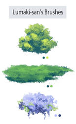 Photoshop Foliage/Grass Brush Pack