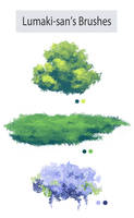 Photoshop Foliage/Grass Brush Pack