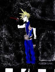 Cloud Strife On Final Fantasy Vii Fc Deviantart