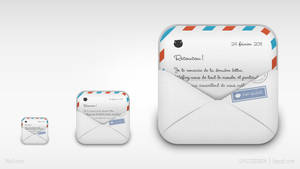 iPhone replacement icon-mail by hehedavid