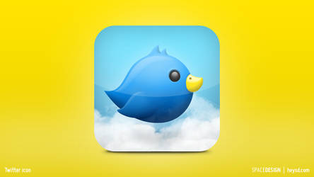Twitter Replacement Icon by hehedavid