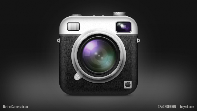 Retro Camera icon by hehedavid