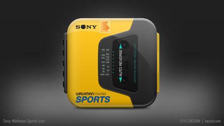 Sony Walkman Sports icon