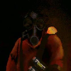Fan Art: Pyro from Team Fortress 2 by Naarma