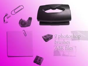 desk brushes