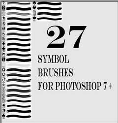 27 symbole brushes