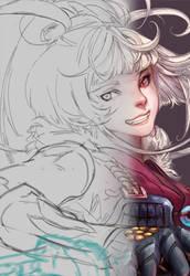 DragonBlade Riven - Steps by Claparo-Sans
