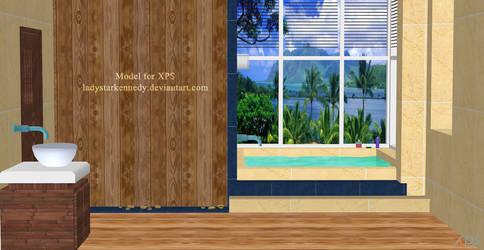XPS model - Bathroom