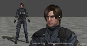XPS Model - Leon In Uniform