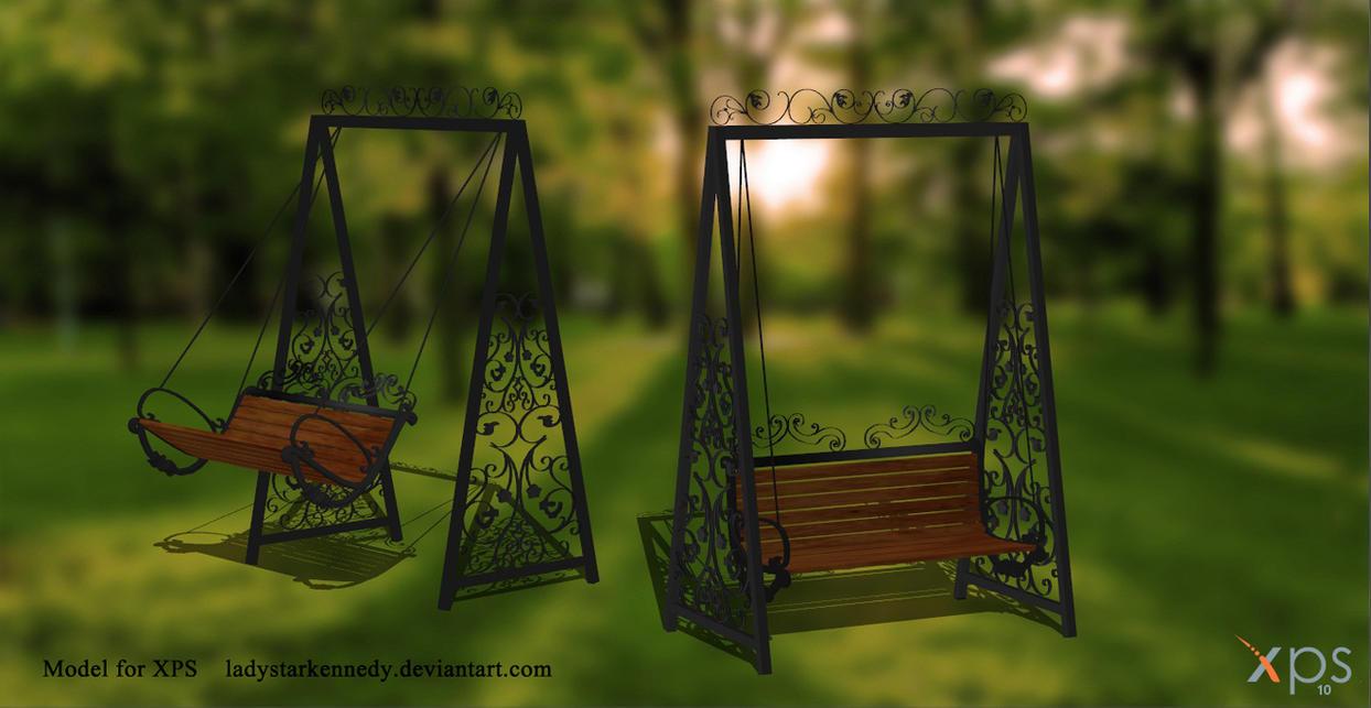 XPS Model - Swing Chair by ladystarkennedy