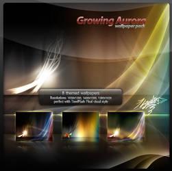 Growing Aurora Wallpaper Pack1 by Steel89