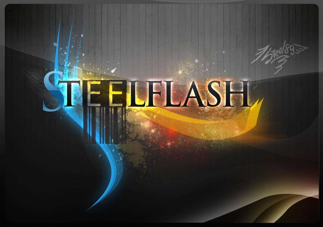 SteelFlash Logotype1 .psd .xcf by Steel89