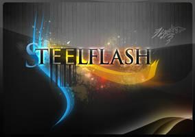 SteelFlash Logotype1 .psd .xcf by Steel89