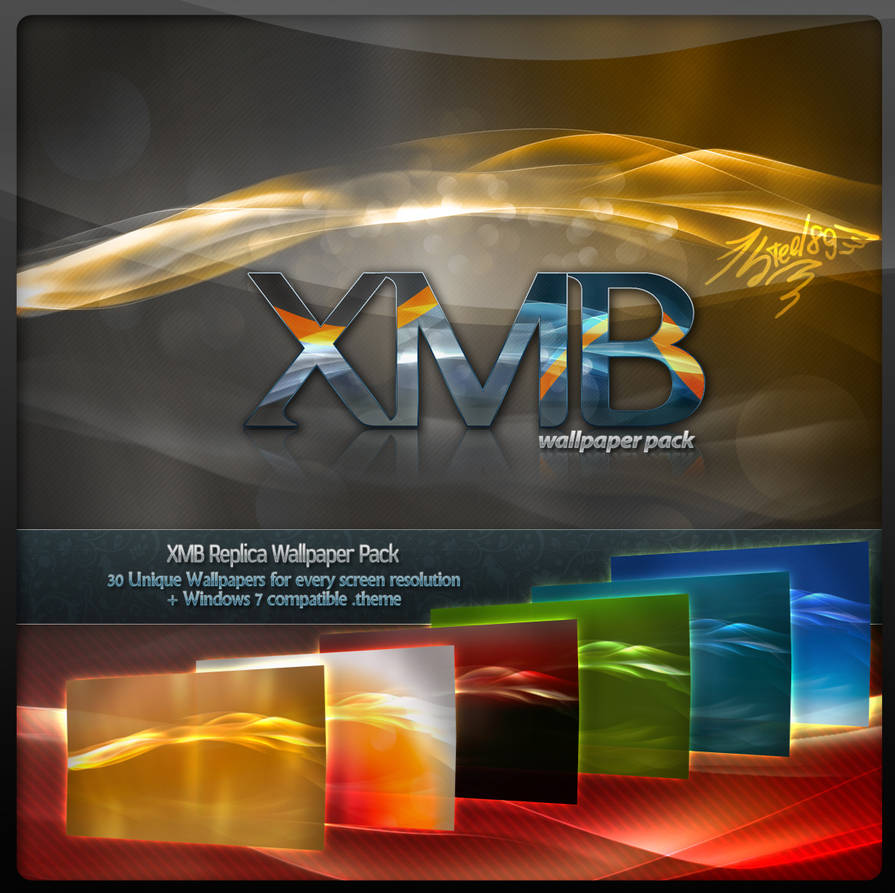 XMB Replica Wallpaper Pack 01