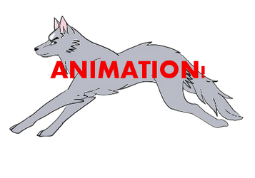 WOLF PRACTICE (my first animation) by Teashiro