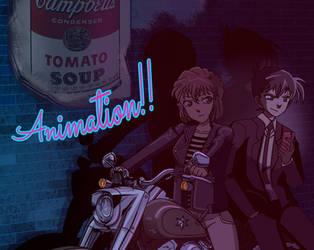 ANIMATION: Shinichi and Haibara