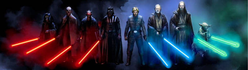 Star Wars The Sith Lords and The Jedi Knights