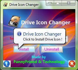 Windows 7 Drive Icon Changer