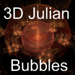 3D Julian Bubbles by MurdocSnook