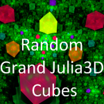 Random Grand Julia3D Cubes by MurdocSnook