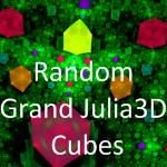 Random Grand Julia3D Cubes by MurdocSnook