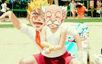 Master and Laxus :D