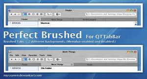 Perfect Brushed for QTTabBar
