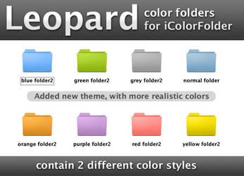 Leopard iColorFolder skin by Myssynen