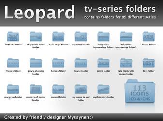 Leopard folders for TV-series by Myssynen
