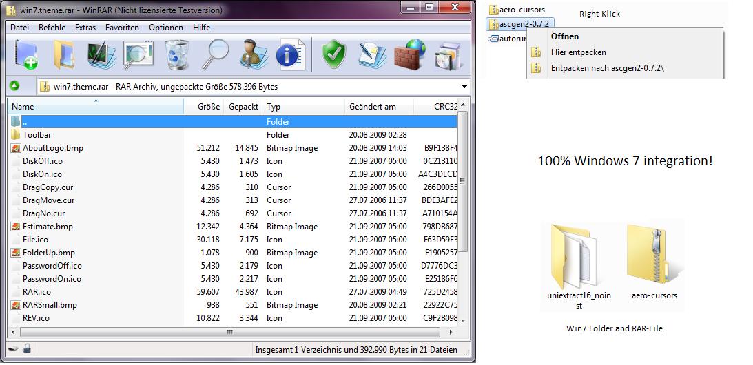 Архиваторы rar для windows 8