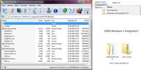 Windows 7 skin for WinRAR