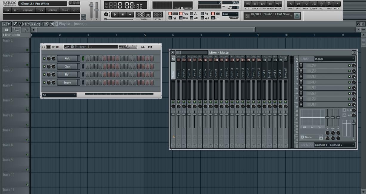 FL Studio 11 Ghost Skins By AntdaKilla by AntDaKilla on