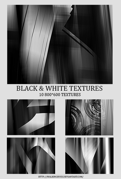 #2 Black And White Texture Pack.